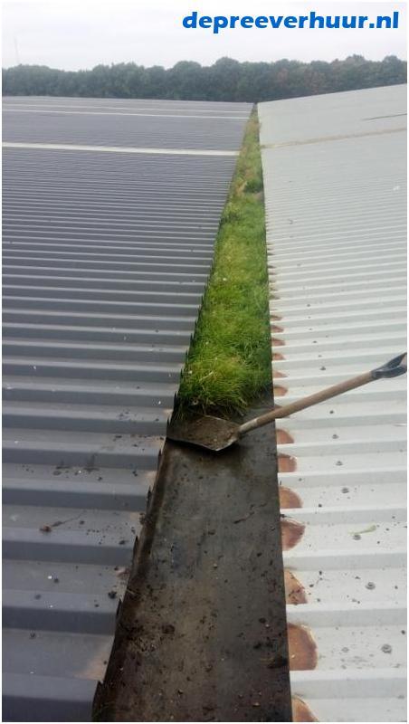 dakgoten en boeiboorden reinigen Zeeland