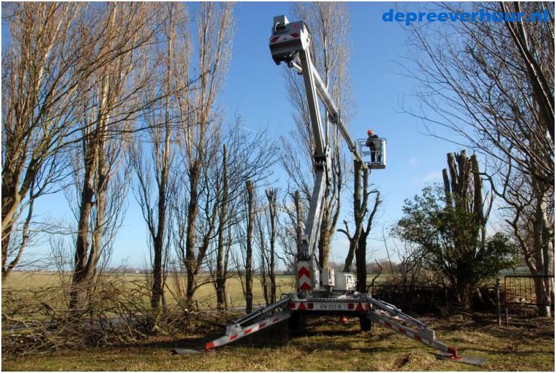 kniktelescoop hoogwerker 21 meter