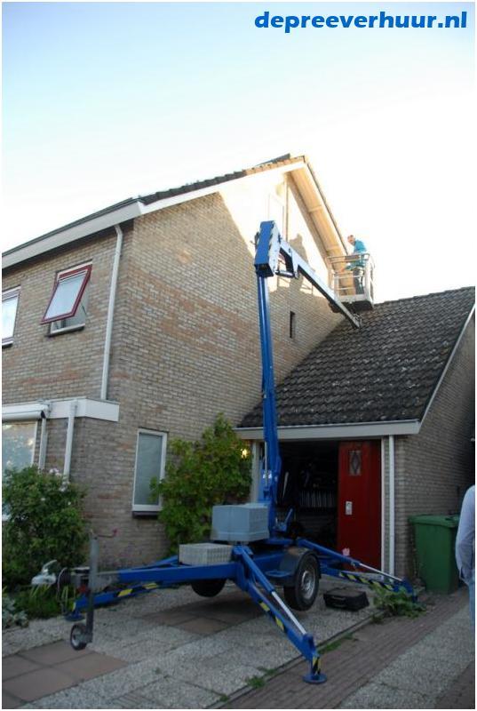 Kniktelescoop aanhanger hoogwerker Middelburg
