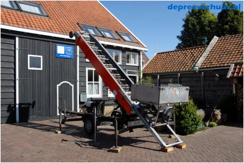 Verhuislift / pannenlift 24 meter