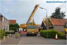Boom rooien Colijnsplaat