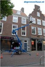Schoonmaken gevel Middelburg