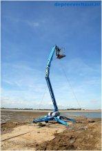Knikarm aanhangerhoogwerker 12 meter