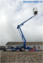 Kniktelescoop aanhanger hoogwerker 12 meter werkhoogte