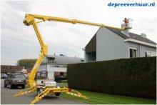 Kniktelescoop aanhanghoogwerker huren Zeeland