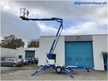 Kniktelescoop aanhangerhoogwerker 15 meter